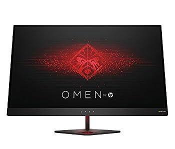 OMEN 27 by HP 27 Inch Gaming Monitor QHD 165Hz 1ms NVIDIA G-SYNC  Black Aluminum