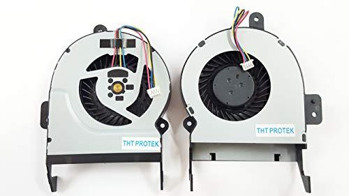 Kompatibel für ASUS F55A, K55A, K55C, K55U Lüfter Kühler Fan Cooler ver. 14mm Bauhöhe