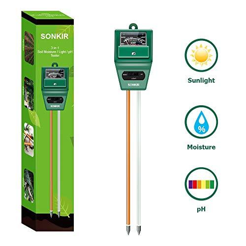 EXQUISITE pH Testeur Mètre Jardin /& Farm /& Lawn /& Plant-Pot /& Testeur de Sol
