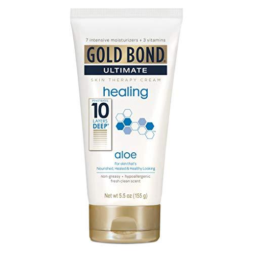 Gold Bond Lotion traitante Skin Therapy Ultimate Healing - Enrichie en aloès et en vitamine A, C et E - 160 ml