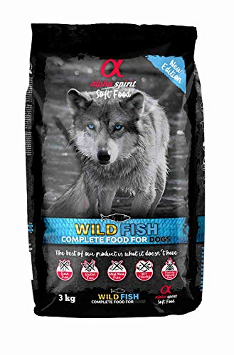 ALPHA SPIRIT Pienso Semihúmedo Perro Wild Fish Saco 3 Kg