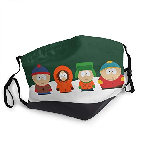 South Park Face_Mask Outdoor Reusable Activated Carbon Covering with Replaceable for Men Women