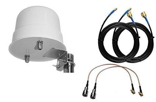 OMNIDIRECCIONAL 4g 3g LTE MIMO ANTENA EXTERNA Huawei Aumentador de presión E5180 E5377 E3272 E3372 E3276 Crc9