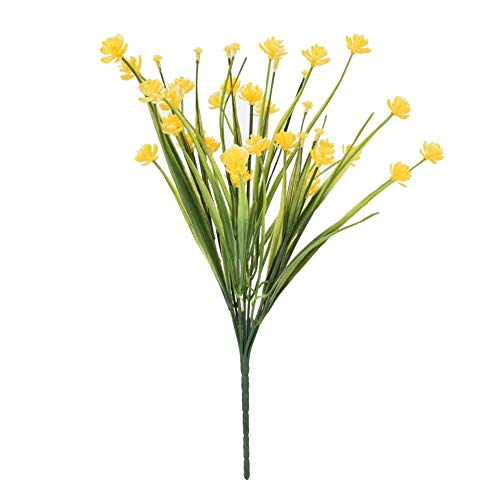 Fdit kunstmatige namaakbloemen bundelen outdoor groen struike planten binnen buiten huis party tuin decoratie MEERWEG INKING socialme-eu