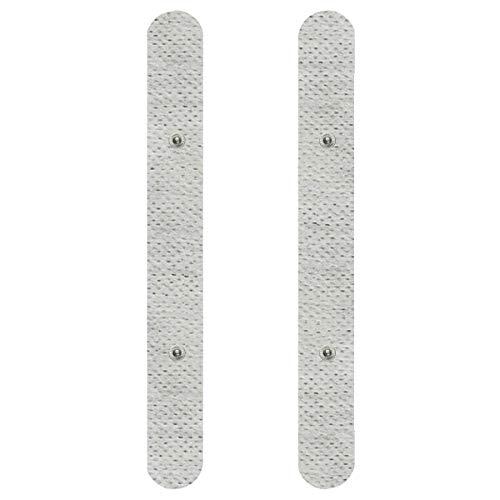 Spinal Elektroden-Pads -33 x 4cm - 2 Stück - Passend zu Sanitas & Beurer - TENS und EMS