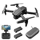 Mini drone con Telecamera HD 1080P FPV per adulti, quadricottero pieghevole RC con controllo...