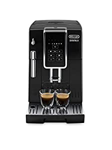 De'Longhi ECAM 350.15.B Fully Automatic Coffee Machine, Stainless Steel, 1450 W, 1.8 liters, Black