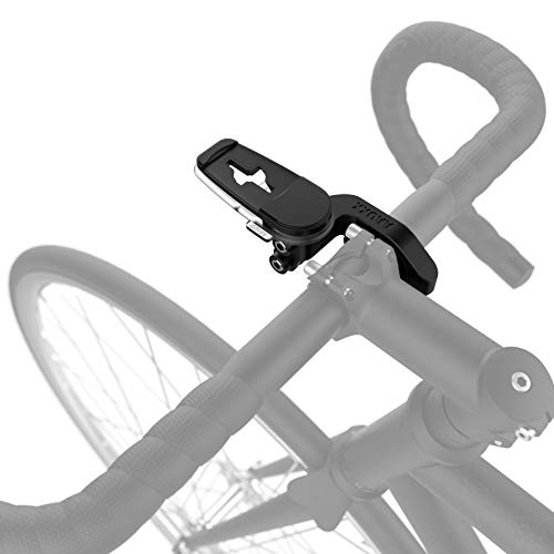 AAUXX Bike Mount Phone Holder Accessory. Compatible with iRing and Link. Action cam Attachable, Adjustable Bike Handlebar Cradle for iPhone, Samsung, Other Android Phones.