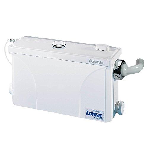 Lomac Suverain 30FFA Schmutzwasserhebeanlage Dusche, Waschbecken, Waschmaschine, Geschirrspüler