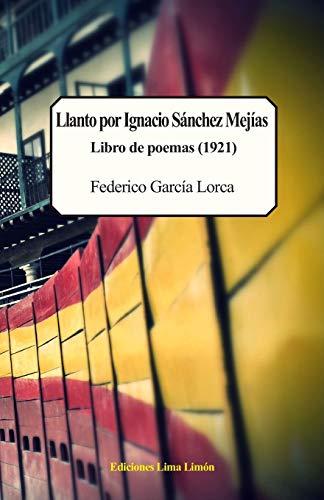 Llanto por Ignacio Sánchez Mejías, Libro de poemas (1921)