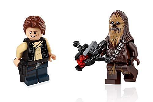 LEGO Star Wars Death Star Minifigures - Han Solo & Chewbacca (75159)