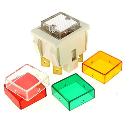Interrupteur 4 cosses transparent pour Micro-ondes De dietrich, Four Rosieres, Cuisiniere Rosieres, Cuisiniere Candy, Four Faure, Cuisiniere Faure, Fo