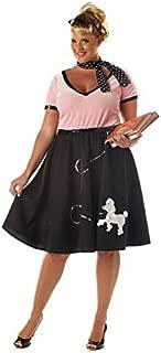plus size poodle skirt 3x