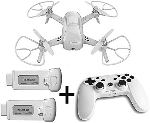 100% a estrenar con calidad original. Yuneec Breeze - Cuadricóptero Compacto con con con cámara Premium 4K UHD (24 cm de diámetro, función de vídeo, 13 Mpx, Controlador y 2 baterías), Color blanco  venta con descuento