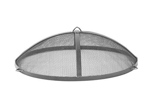 DS Funkenschutz für Feuerschalen 59 cm - 69 cm - 79 cm in Lackiert - Unlackiert und Rost aus Stahl (79 cm Rost)