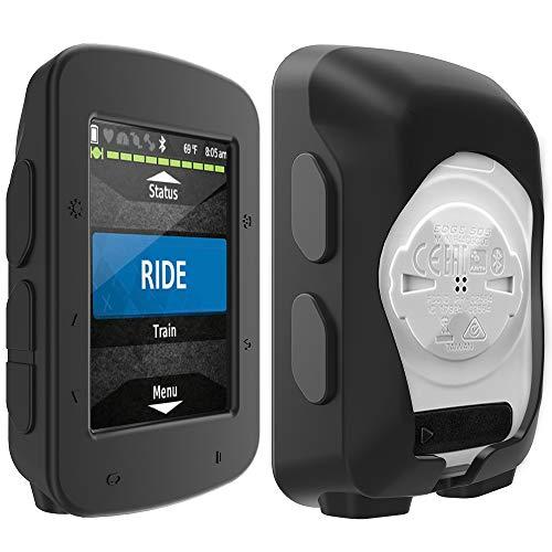 TUSITA Hülle Kompatibel mit Garmin Edge 520 Plus - Silikon Schutzhülle - Zubehör für GPS Fahrradcomputer