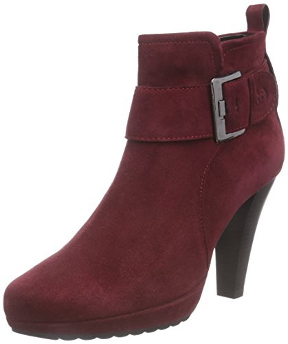 Gerry Weber Shoes Damen Liliana 12 Kurzschaft Stiefel, Rot (Bordo 403), 39 EU