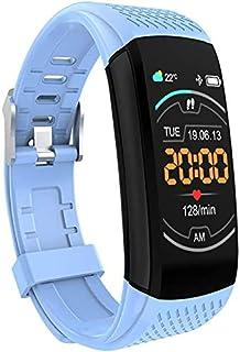 VINSON C8 Band Smartwatch Pulsera de Actividad Termómetro,Monitores de Actividad,Pantalla Pulsómetro Fitness Tracker,Mpermeable IP67 Reloj Inteligente,Mujer Hombre Podómetro,para Android y iOS