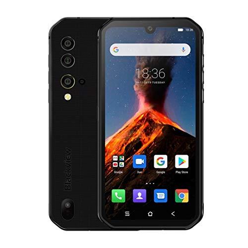 Zweifacher SIM-Netzwerk: 4G, 6,49 Zoll Wassertropfen Scr Netzwerk: 4G (schwarz), Tuner Gebühr, NFC, 5,84-Zoll-Android 9 Pie MT6779V Octa-Core bis zu 2,1 GHz, Seitenmontage Fingerabdruck-Identifizierun