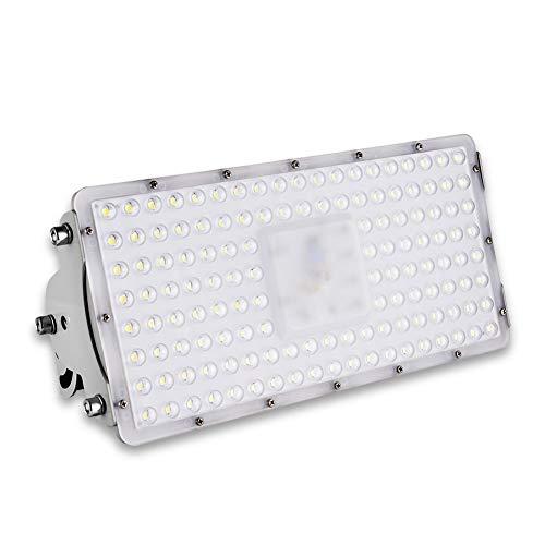 100W LED Strahler Außen, Sararoom 10000LM LED Scheiwerfer IP65 wasserdicht Industriestrahler, Kaltweiß Flutlicht-Strahler, Außenstrahler Hervorragend für Hinterhof, Auffahrt, Garage, Flur, Garten
