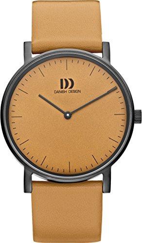 Danish Design Damen Analog Quarz Uhr mit Leder Armband DZ120477