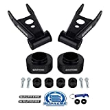 Supreme Suspensions - Full Lift Kit for 1984-2001 Jeep Cherokee XJ 4WD 2' Front Lift Spring Spacers + 2' Rear Lift Shackles + Transfer Case Drop Kit