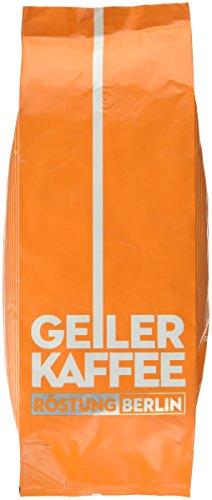 GEILER KAFFEE Röstung BERLIN, 1er Pack (1 x 1 kg)