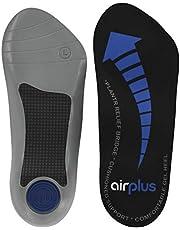 Airplus Plantar Fasciitis-75020, Ortopedico Uomo, Nero (Black), M