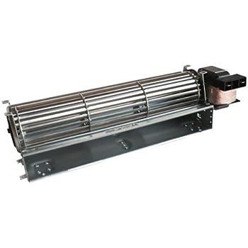 Motor Ventilador tangenziale 420 mm 334 x 40 estufas de pellets ...