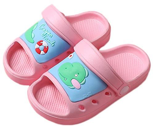 Zuecos Niños Lindo Sandalias de Playa y Piscina Verano Zapatillas Niña Niño Respirable Antideslizante Plana Zapatos de Agua