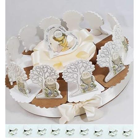 Idea torta bomboniere comunione albero della vita cuore immagini simbolo *