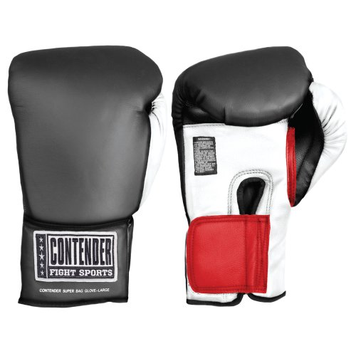 Contender Fight Sports Classic Boxing Training Bag Gloves, Large-X-Large