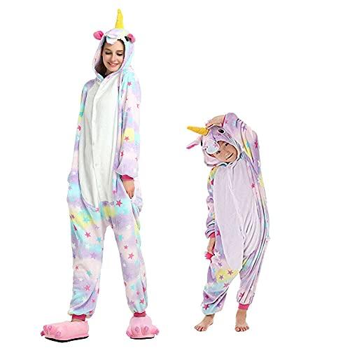 Regenboghorn Unicornio disfraz de pijama...