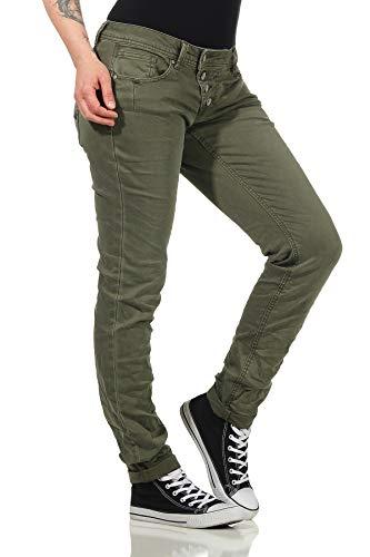 Buena Vista Jeans Hosen Damen Malibu Jeans Damen Malibu - Olive - grün - Gr. M