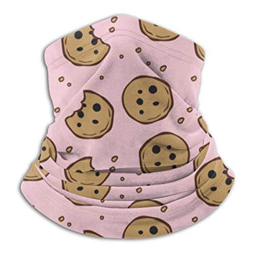 Lzz-Shop koekjes kruimelpatroon winter fleece hals gamasche hals hals gezicht in de open lucht