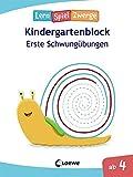 Die neuen LernSpielZwerge - Erste Schwungübungen: Kindergartenblock ab 4 Jahre - Lernspiele und Übungen für Kindergarten und Vorschule
