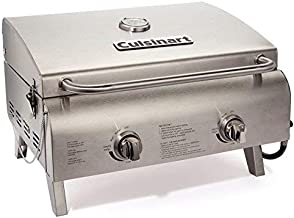 Cuisinart CGG-306 Chefs Style Stainless Tabletop Grill (Renewed)