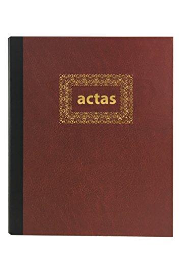 Libro de Actas de Hojas Móviles - Color Burdeos (Modelo 4)