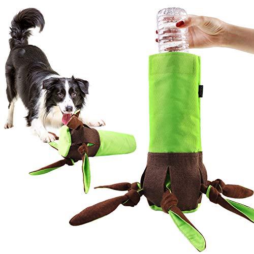 MeijieM Juguete con Sonido de Masticando para Perros, Juguete de Perros Olfativos para Ejercicio Juguete Interactivo para Mascotas, Juguete para Morder para Perros Entrenamiento/Alimentador Lento