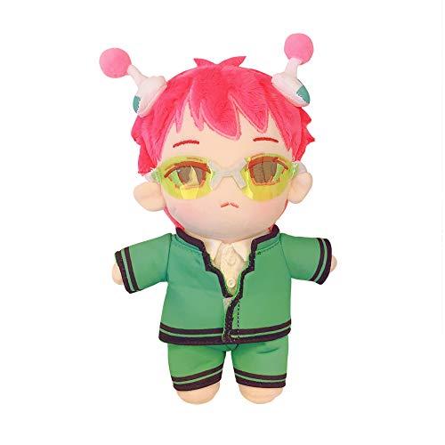 TINGYUANO Anime The Disastrous Life of Saiki K. Plush Cute Toy Doll Luxury Collectible 7.9''