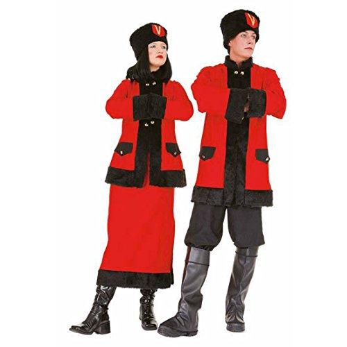 Disfraz Rusa cosaco Invernal de Vestuario Discotecas Traje cosacos rusos de Vestuario para Disfraz Kosakinkleid Kosakinkostm