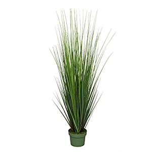 House of Silk Flowers Artificial 42-inch Green PVC Grass