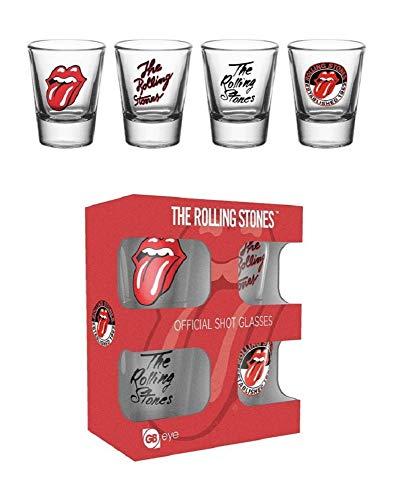 GB Eye LTD, The Rolling Stones, Mix, 20 ML Verre à Shot