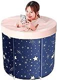 La bañera plegable Baño barril adultos plegable Baño...