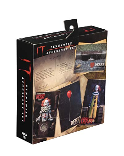 NECA Pack Accesorios para Figuras It (Eso) 2017. Stephen King 2