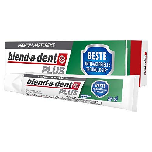 Blend-a-dent Plus Beste antibakterielle technologie Premium-Haftcreme, 12er Pack (12 x 40 g)