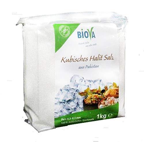 Biova Kubisches Halit Salz, Feinstreu, 0,3-0,5 mm 1kg
