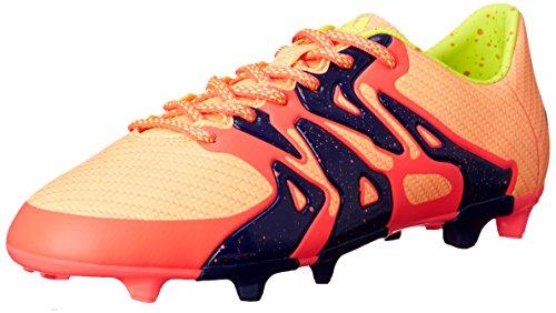 adidas Performance X 15.3 Fg/ag W FuÃ?ballschuh, Rosa/Gelb/Mitternacht Indigo-Blau, 5 M Us