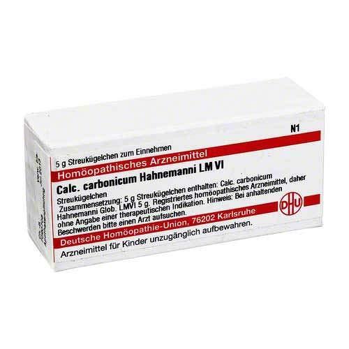 LM CALCIUM carbonicum Hahnemanni VI Globuli 5 g Globuli