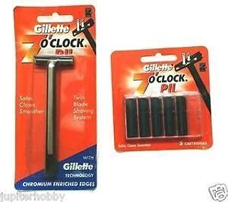 7 O'Clock PII Trac II Razor + cartridge with 5 pcs